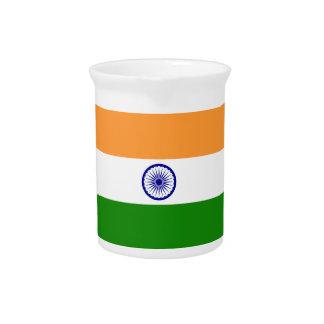 Indien-Flagge Krug