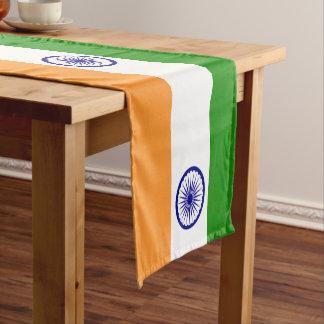 Indien-Flagge Kurzer Tischläufer