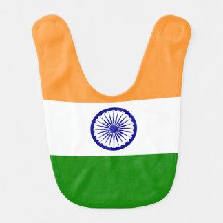 Indien-Flagge Lätzchen
