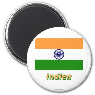 Indien Flagge MIT Namen