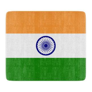 Indien-Flagge Schneidebrett