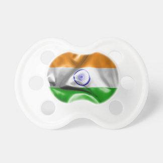 Indien-Flagge Schnuller