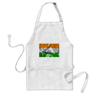Indien-Flagge Schürze