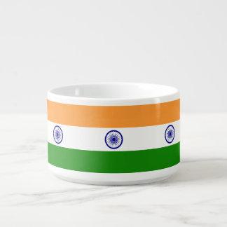 Indien-Flagge Schüssel