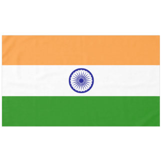 Indien-Flagge Tischdecke