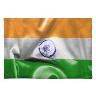 Indien-Flagge Tischset