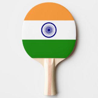 Indien-Flagge Tischtennis Schläger