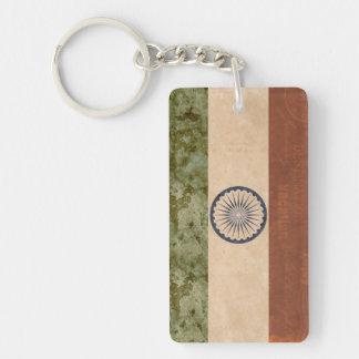 Indien-Flaggen-Schlüsselketten-Andenken Schlüsselanhänger