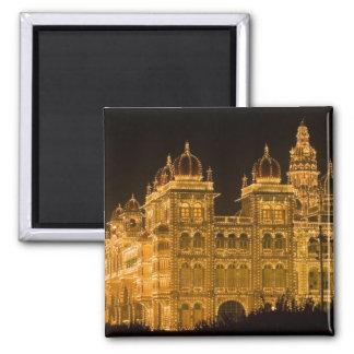 INDIEN, Karnataka, Mysore: Majarajas Palast (B. Quadratischer Magnet