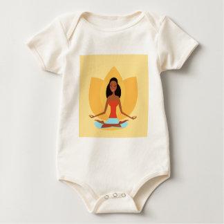 INDIEN-MEDITATIONS-PRINZESSIN ART EDITION BABY STRAMPLER