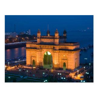 INDIEN, Mumbai (Bombay): Zugang von Indien/ Postkarte
