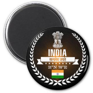 Indien Runder Magnet 5,1 Cm