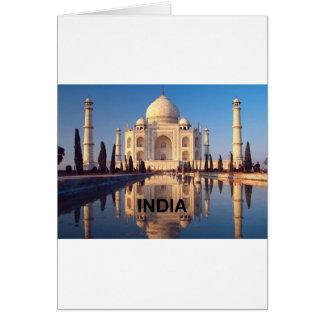Indien Taj Mahal Angie Karte