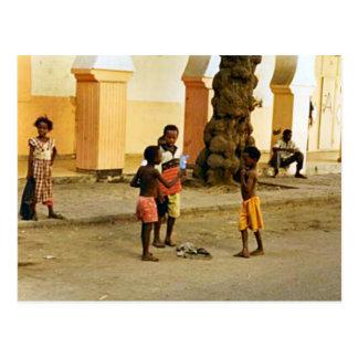 Indien, Tempelhof Postkarte