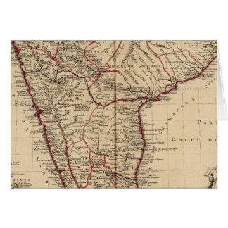 Indien und Bangladesch Karte