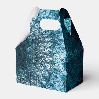 Indigo Blue Mandala Geschenkschachtel
