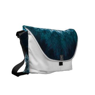 Indigo Blue Mandala Kurier Taschen
