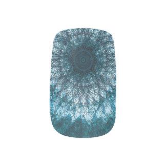 Indigo Blue Mandala Minx Nagelkunst