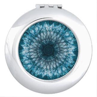 Indigo Blue Mandala Schminkspiegel