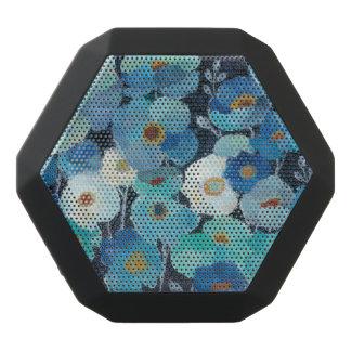 Indigo-Blumen Schwarze Bluetooth Lautsprecher