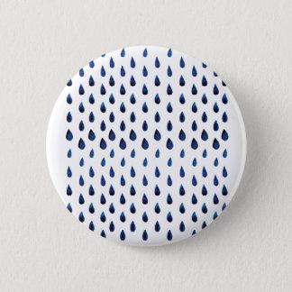 Indigo drops runder button 5,1 cm