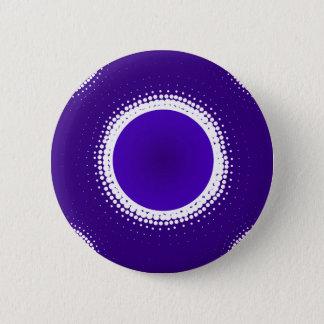 Indigo-Eklipse Runder Button 5,1 Cm