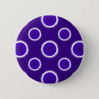 Indigo-Eklipse Runder Button 5,7 Cm