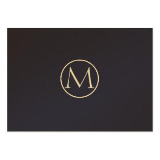 Indigo elegant Mini-Visitenkarten