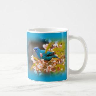 Indigo-Flaggen-Blau Kaffeetasse