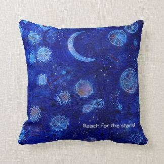 Indigoreichweite für die Sterne! Kissen