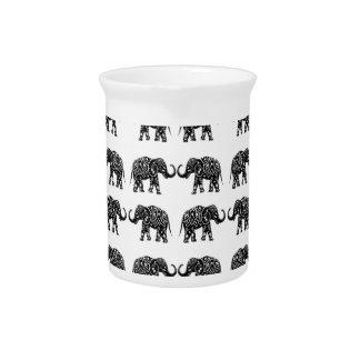 Indische Elefanten Getränke Pitcher