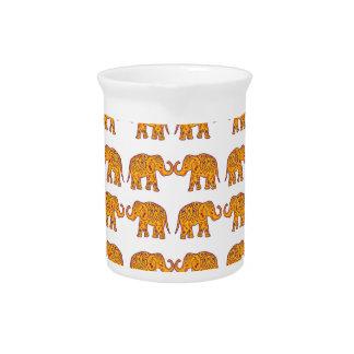 Indische Elefanten Krug