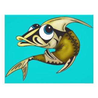Indische Fische 21,6 X 27,9 Cm Flyer