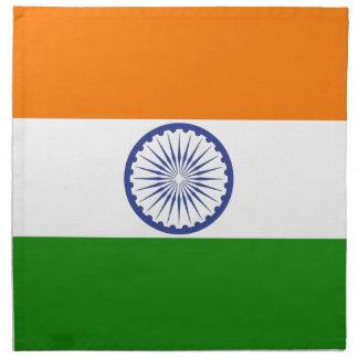 Indische Flagge Stoffserviette