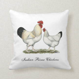 Indische Fluss-Hühner Kissen