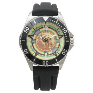 Indische Haupttest-Muster-Uhr Uhr