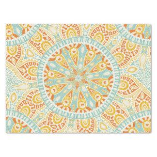Indische Kaleidoskop-Kunst Seidenpapier