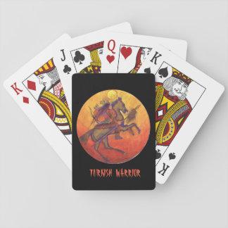 Indische Kriegersfarbe - indische Spielkarten