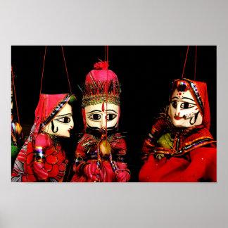 Indische Marionetten Poster