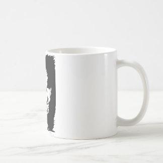 Indische oder Eskimooptische Täuschung Kaffeetasse