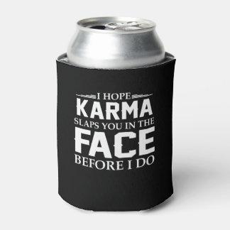 Indische religiöse Hoffnungs-Karma-Klapse Sie im Dosenkühler