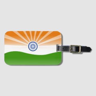 Indische Sonne Gepäckanhänger