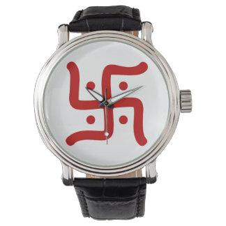 indische traditionelle hindische armbanduhr