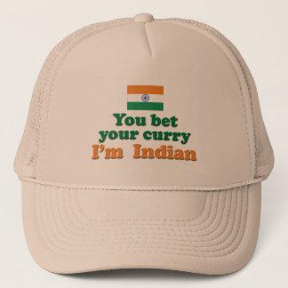 Indischer Curry 2 Truckerkappe