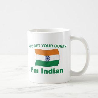 Indischer Curry Kaffeetasse