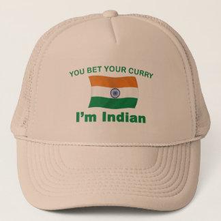 Indischer Curry Truckerkappe