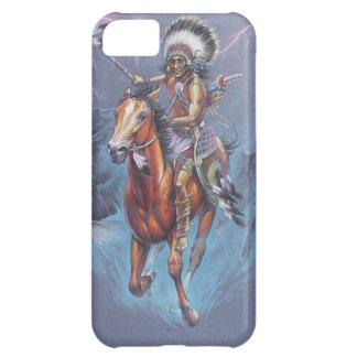 Indischer Krieger im Kampf iPhone 5C Hülle