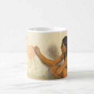 Indischer Künstler durch Couse, Vintager Tee Tassen