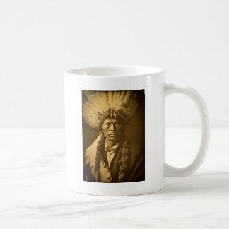 Indischer Leiter Garfield Jicarilla Apache Vintag Kaffeetasse