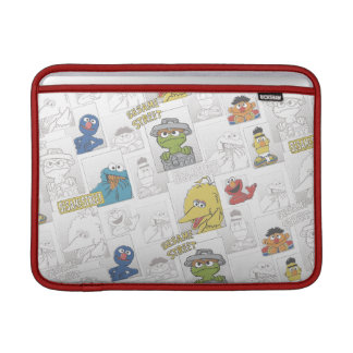 Indischer Sesam StreetVintage Comic-Muster Sleeve Fürs MacBook Air